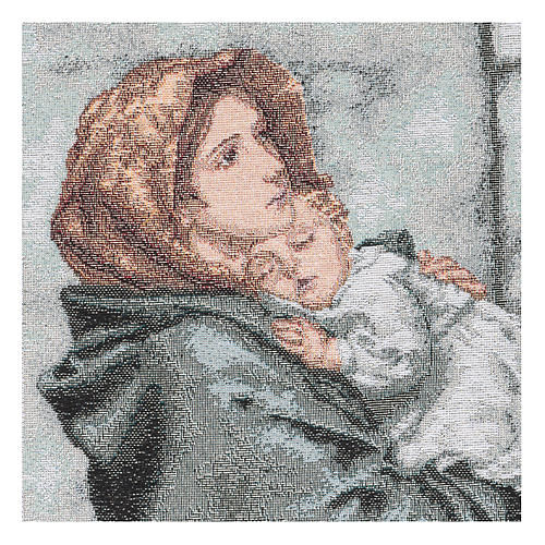 Arazzo Madonna del Buon Riposo 35x30 cm 2