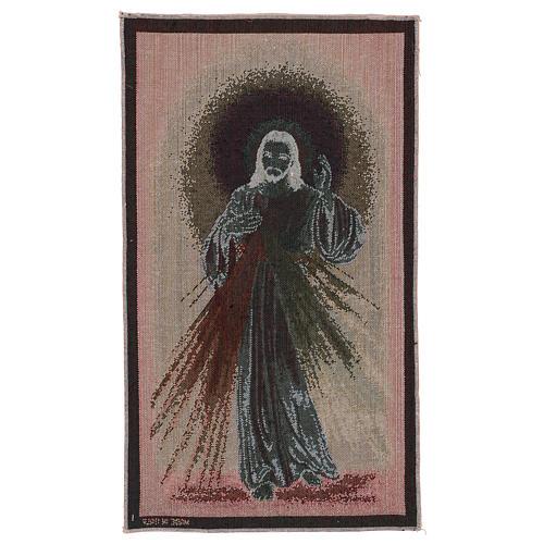 Arazzo Misericordioso fondo scuro 50x30 cm 3