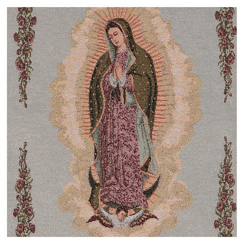 Our Lady of Guadalupe tapestry 50x40 cm 2