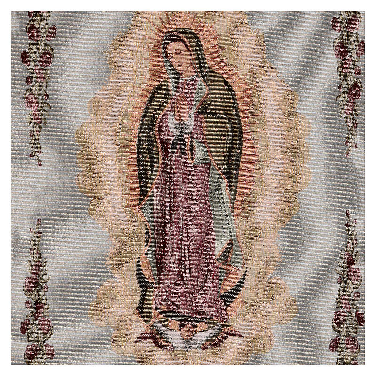 Tapiz Nuestra Señora de Guadalupe 50x40 cm 3