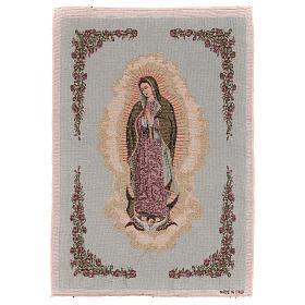 Tapiz Nuestra Señora de Guadalupe 50x40 cm s1