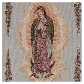 Tapiz Nuestra Señora de Guadalupe 50x40 cm s2
