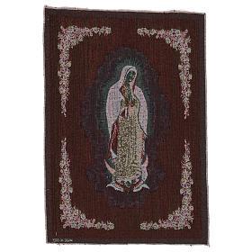 Tapiz Nuestra Señora de Guadalupe 50x40 cm s3
