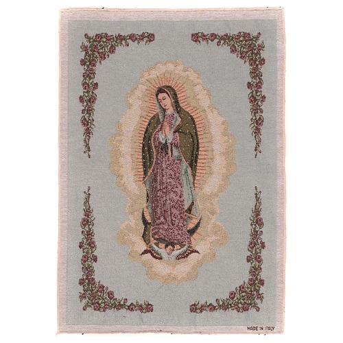 Tapiz Nuestra Señora de Guadalupe 50x40 cm 1