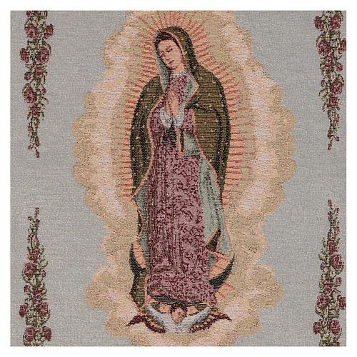 Tapiz Nuestra Señora de Guadalupe 50x40 cm 2