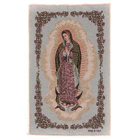 Tapiz Nuestra Señora de Guadalupe 50x30 cm s1