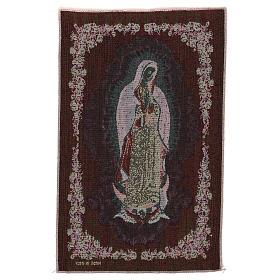 Tapiz Nuestra Señora de Guadalupe 50x30 cm s3