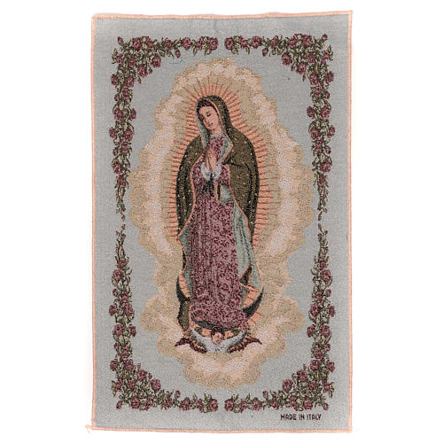 Tapiz Nuestra Señora de Guadalupe 50x30 cm 1