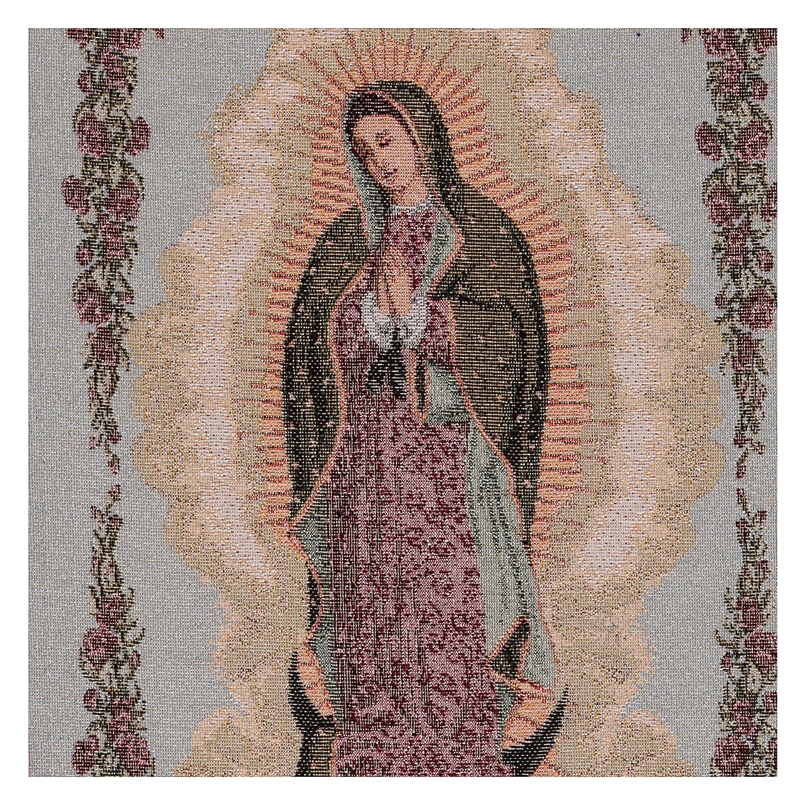 Arazzo Nostra Signora di Guadalupe 50x30 cm 3
