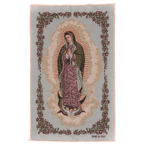 Arazzo Nostra Signora di Guadalupe 50x30 cm 1