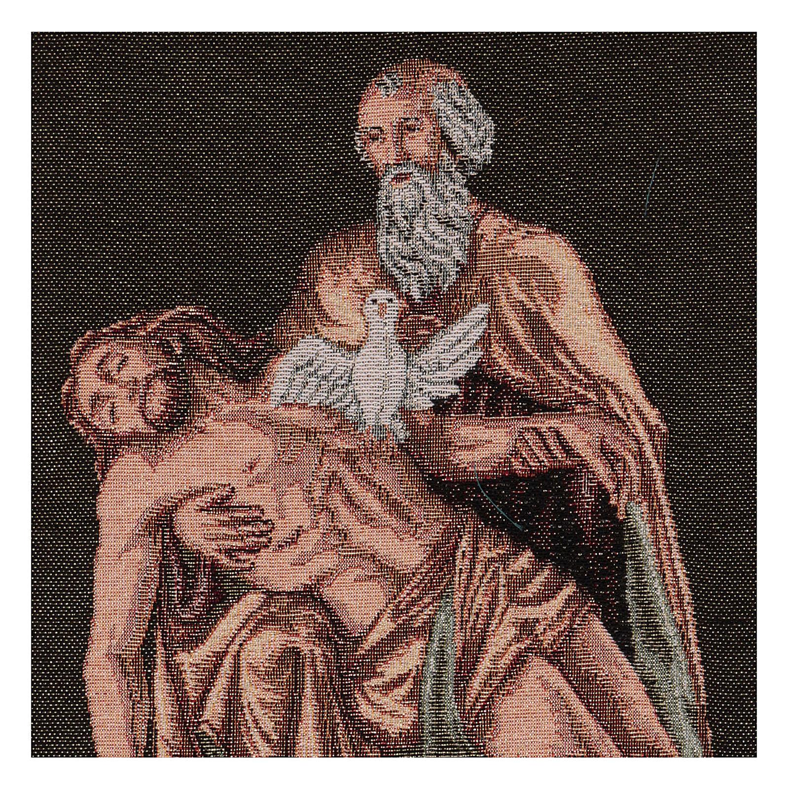 Arazzo Passione Dio con Colomba 40x30 cm 3