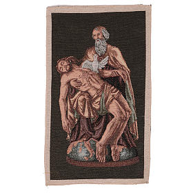 Arazzo Passione Dio con Colomba 40x30 cm s1