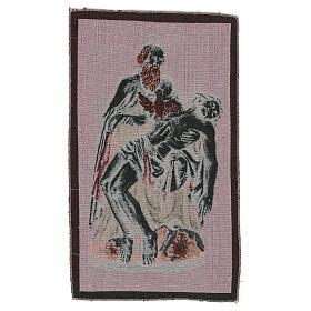 Arazzo Passione Dio con Colomba 40x30 cm s3