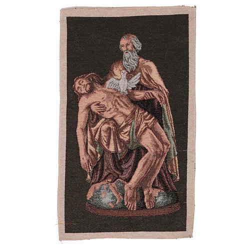 Arazzo Passione Dio con Colomba 40x30 cm 1