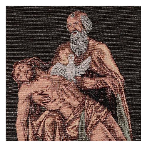 Arazzo Passione Dio con Colomba 40x30 cm 2