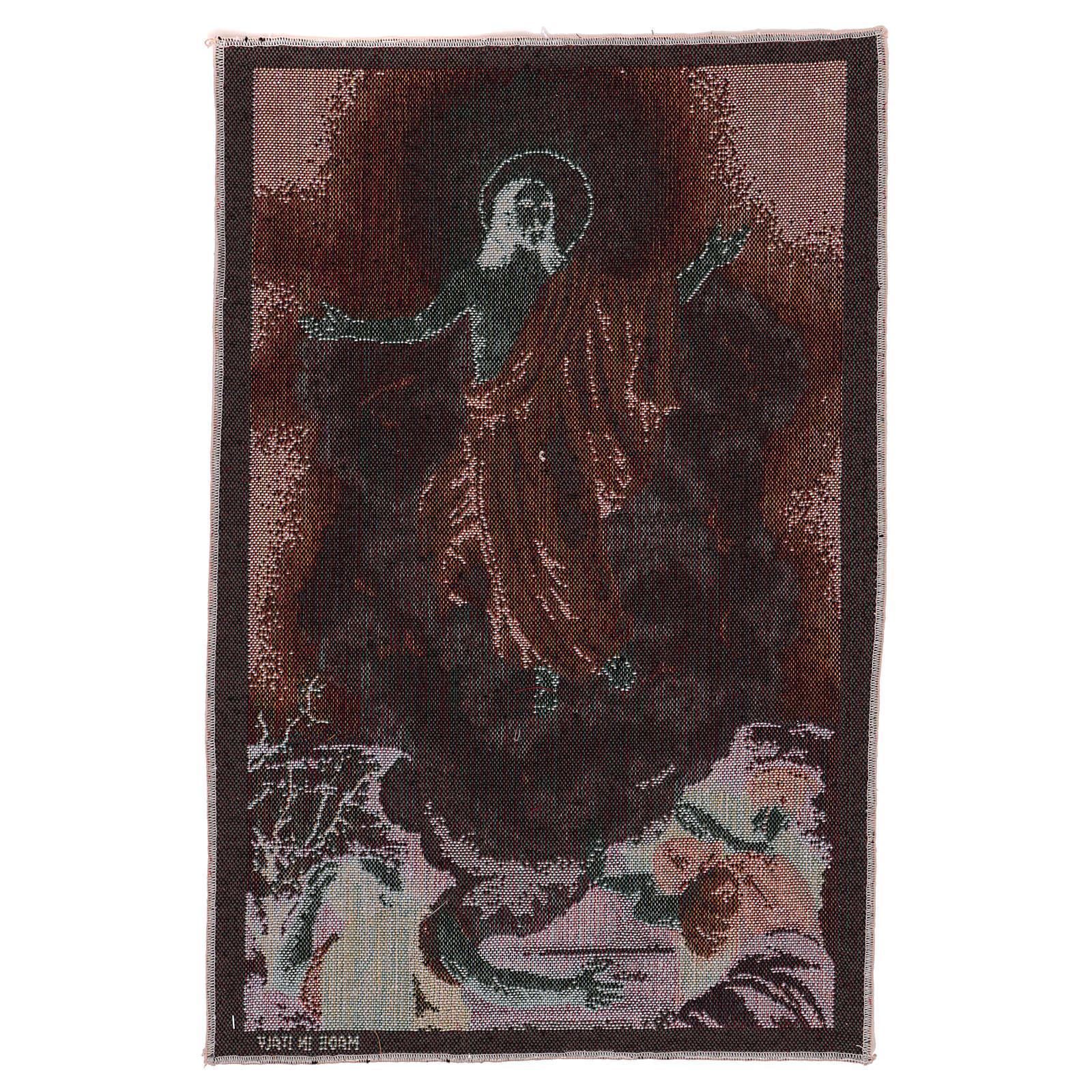 Arazzo Resurrezione 40x30 cm 3