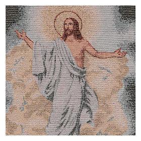 Arazzo Resurrezione 40x30 cm s2