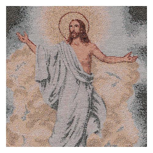 Arazzo Resurrezione 40x30 cm 2