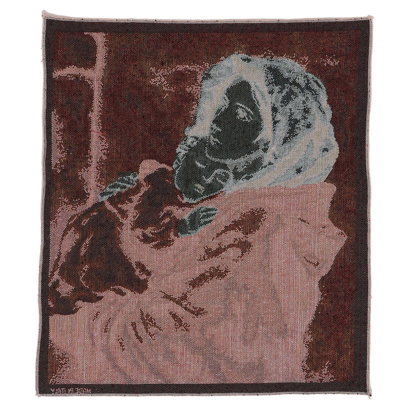 Arazzo Madonna del Buon Riposo 45x40 cm 3