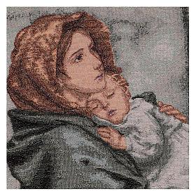 Arazzo Madonna del Buon Riposo 45x40 cm s2