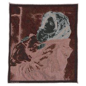 Arazzo Madonna del Buon Riposo 45x40 cm s3