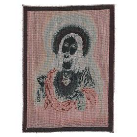 Arazzo Sacro Cuore di Gesù 40x30 cm s3