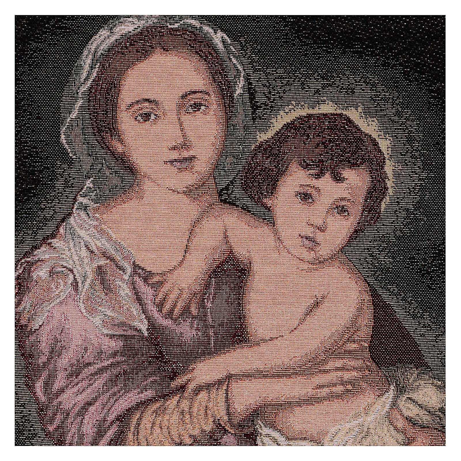 Arazzo Madonna del Murillo 50x40 cm 3