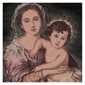 Arazzo Madonna del Murillo 50x40 cm s2