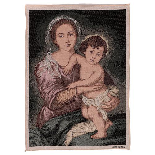Arazzo Madonna del Murillo 50x40 cm 1