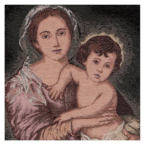 Arazzo Madonna del Murillo 50x40 cm 2