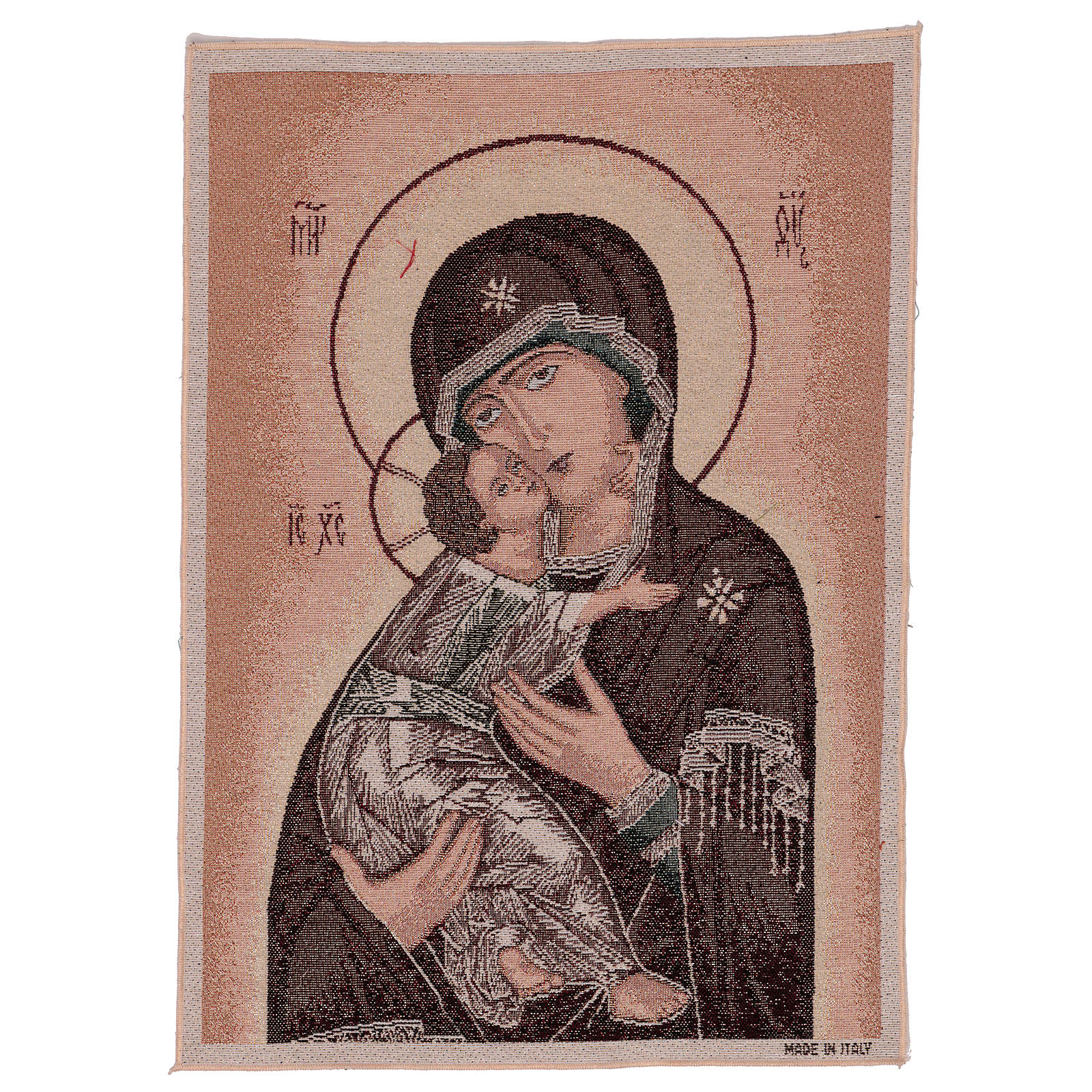 Our Lady of Vladimir tapestry 50x40 cm 3