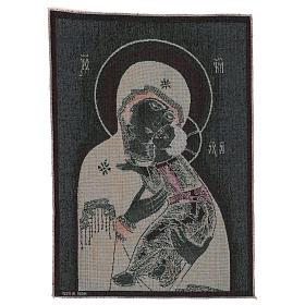 Tapisserie icône Vierge de Tendresse 50x40 cm s3