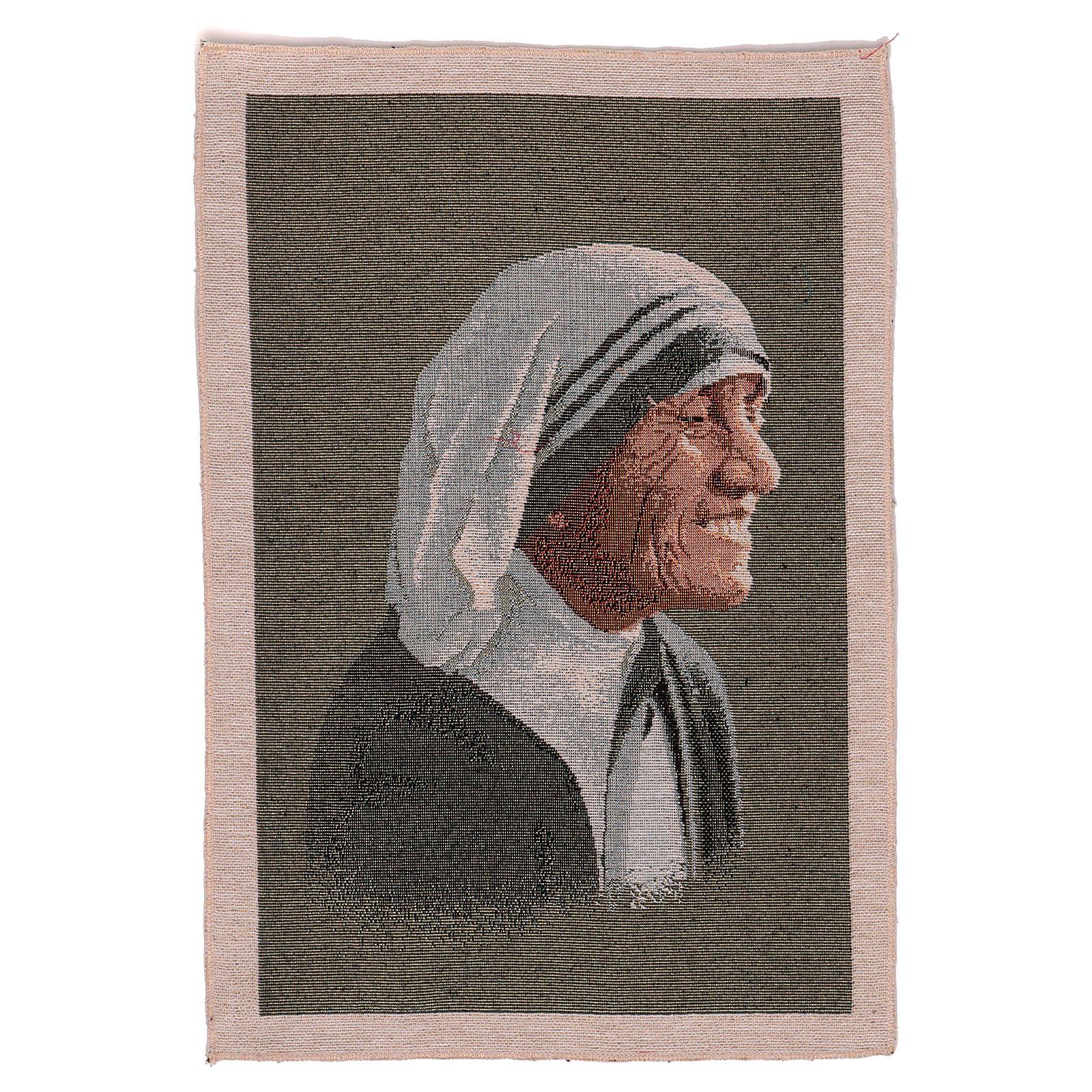 Arazzo Madre Teresa 55x40 cm 3