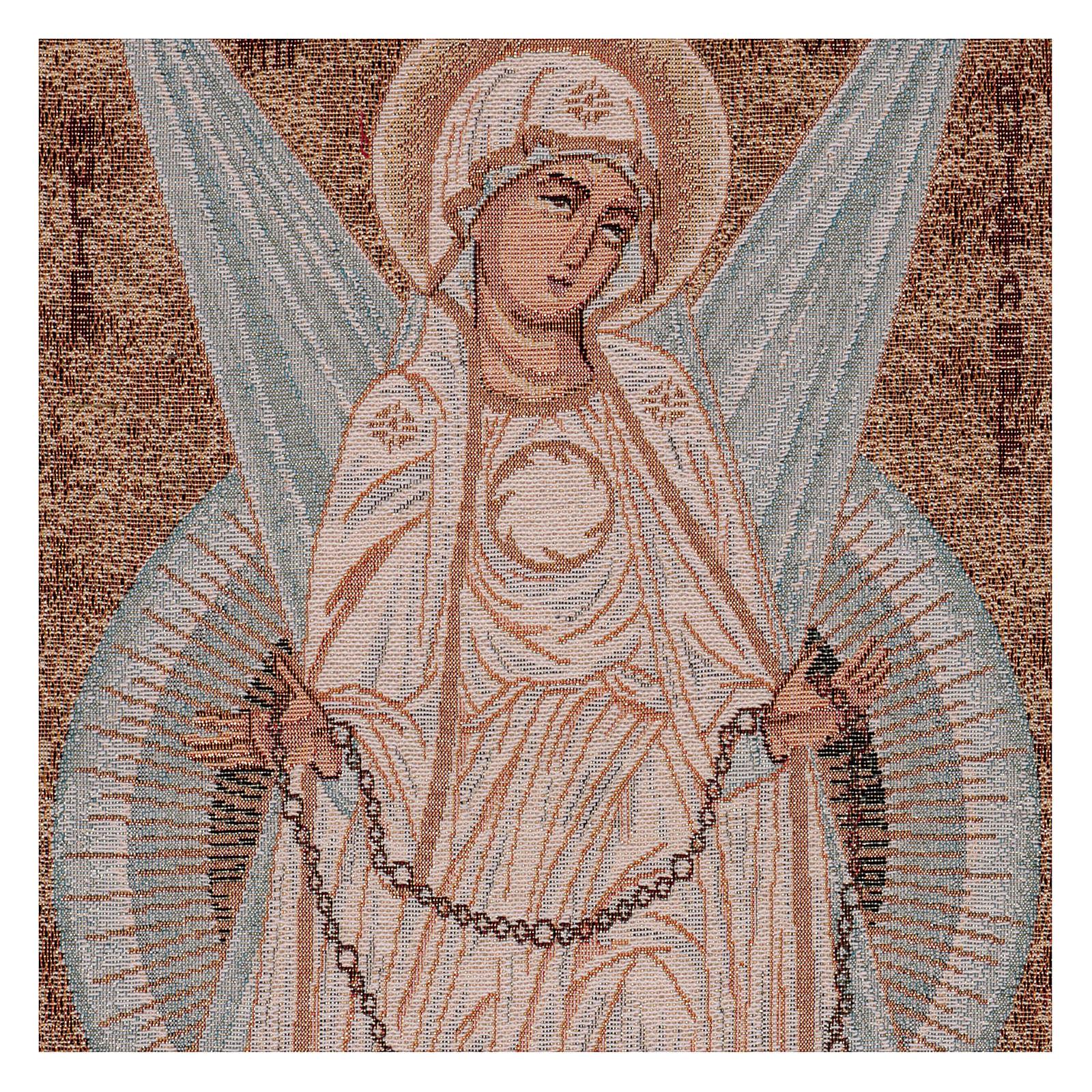 Arazzo Madonna con Raggi 30x60 cm 3