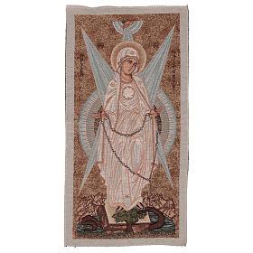 Arazzo Madonna con Raggi 30x60 cm s1