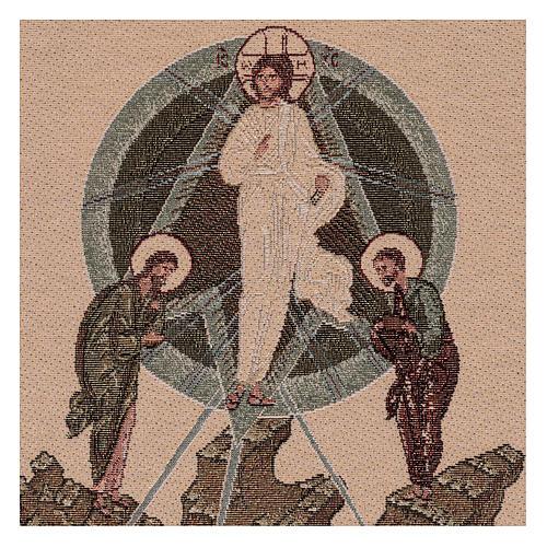 Arazzo Trasfigurazione Bizantina 30x60 cm 2