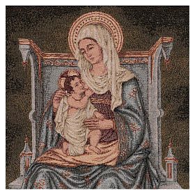 Arazzo Madonna degli Angeli 60x40 cm s2