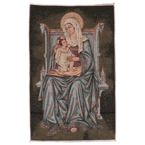Arazzo Madonna degli Angeli 60x40 cm 1
