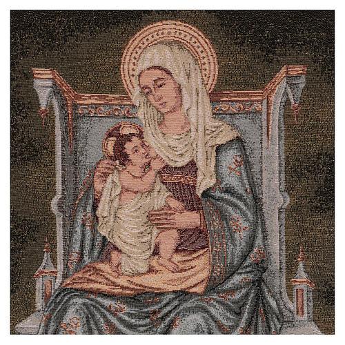 Arazzo Madonna degli Angeli 60x40 cm 2