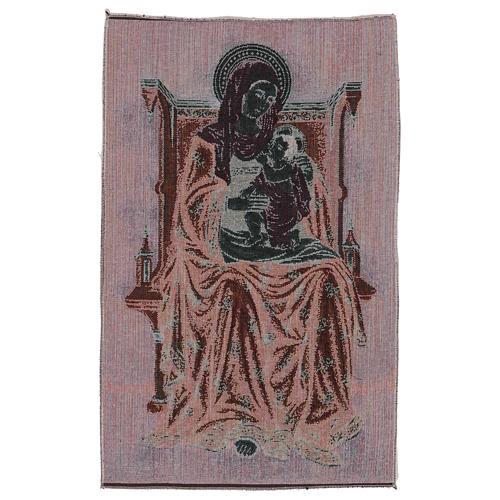 Arazzo Madonna degli Angeli 60x40 cm 3