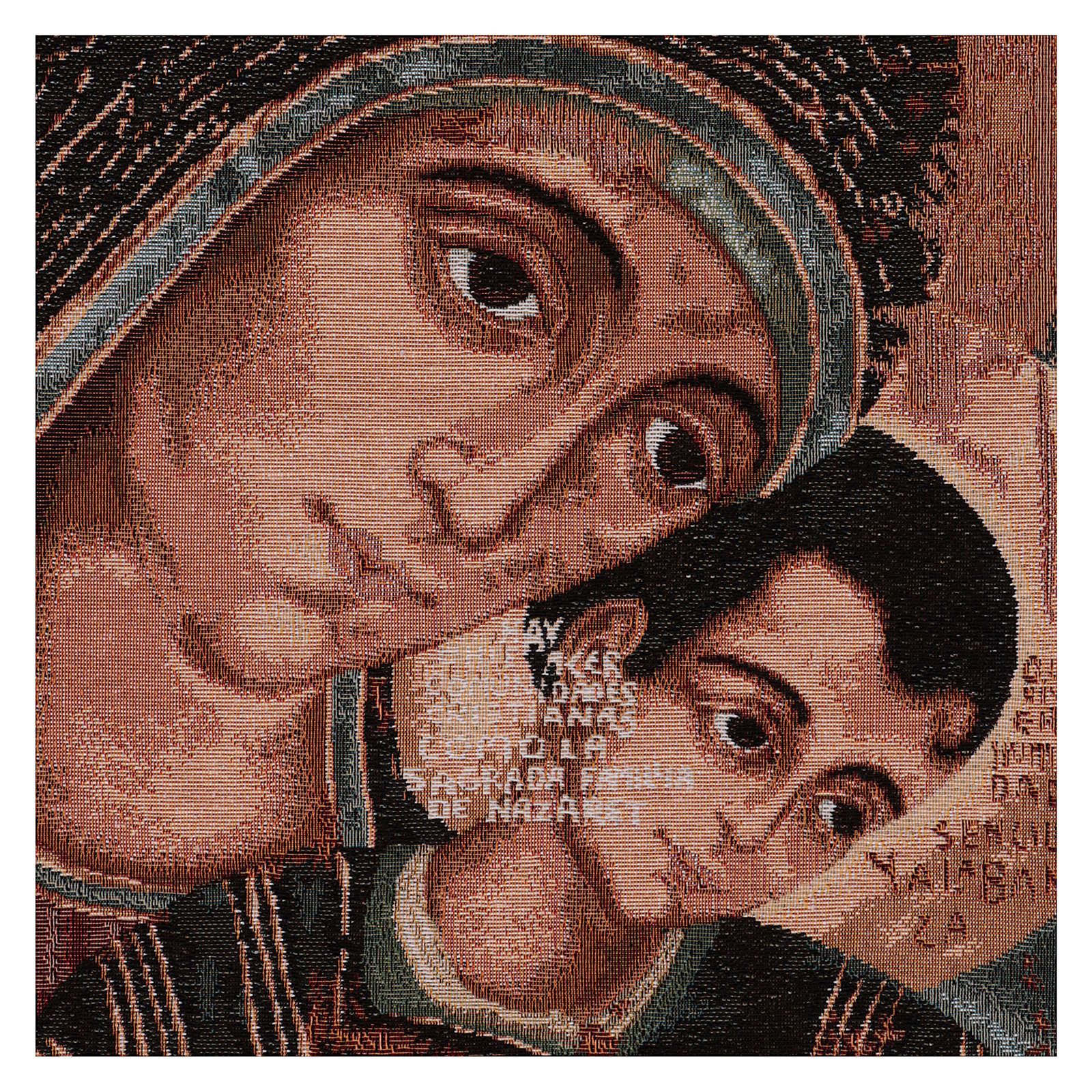 Our Lady of Kiko tapestry 50x40 cm 3