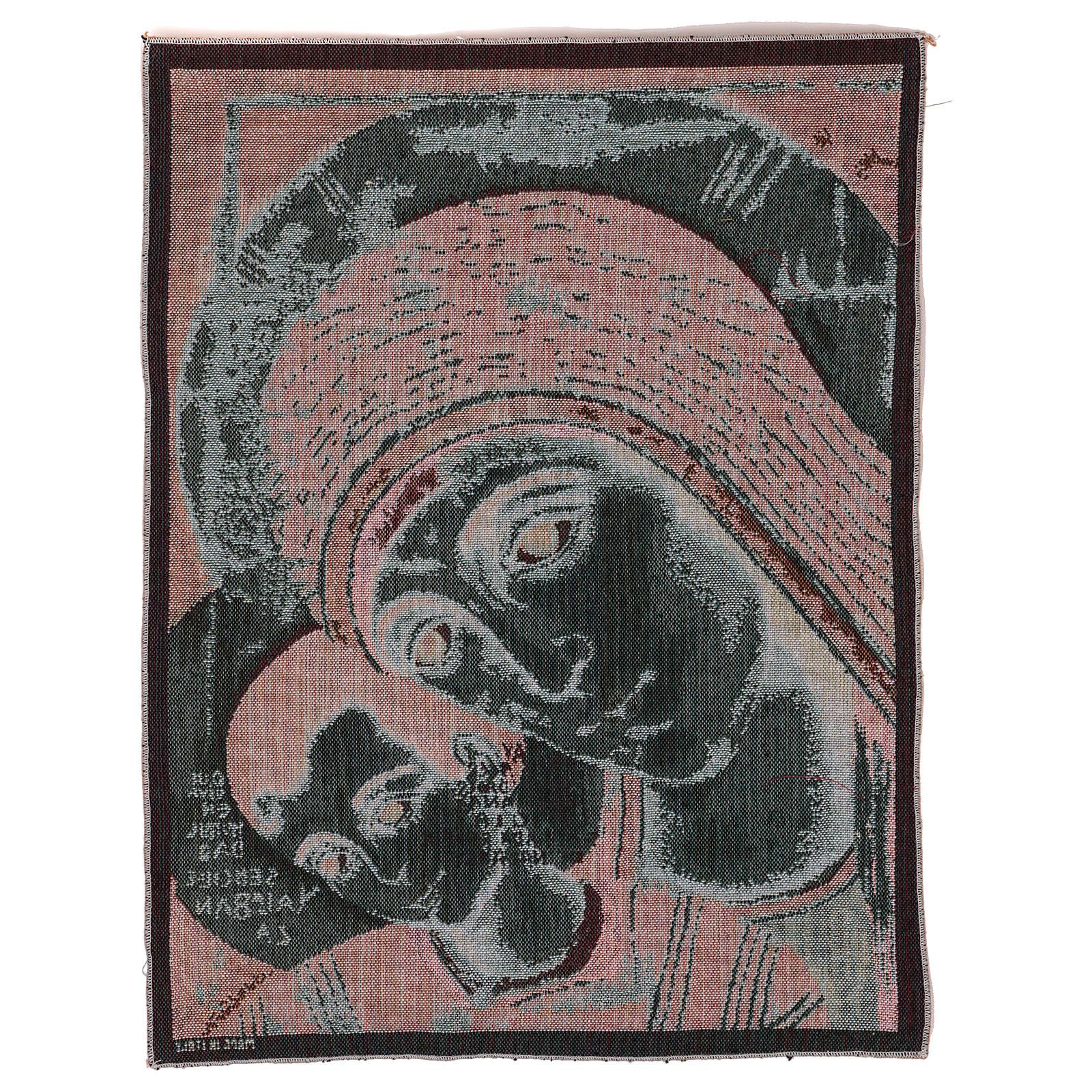 Arazzo Madonna di Kiko 50x40 cm 3