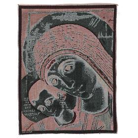 Arazzo Madonna di Kiko 50x40 cm s3
