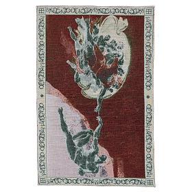Wandteppich Erschaffung Adams 40x60 cm s3