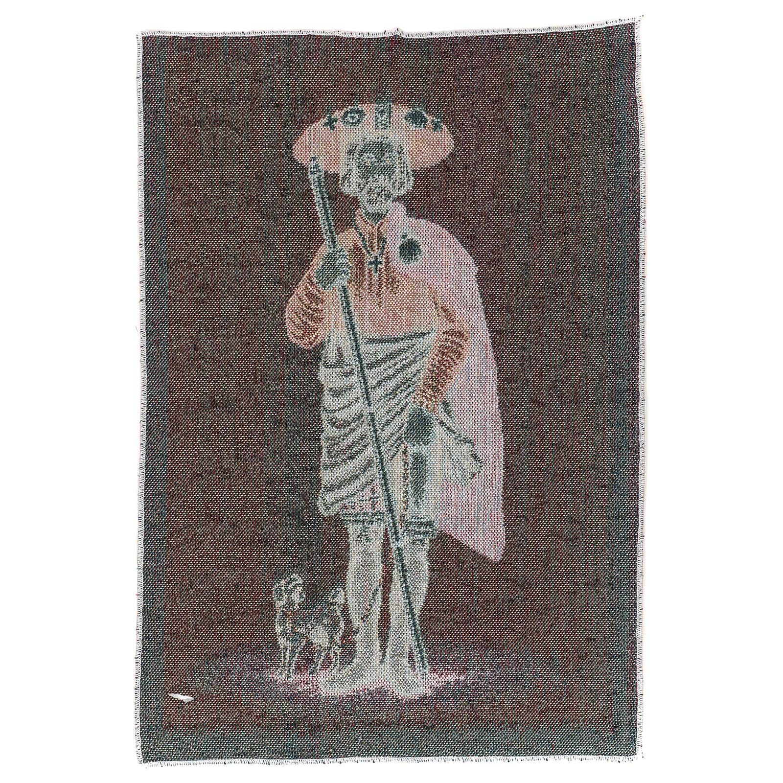 Tapestry Saint Rocco 40x30 cm 3