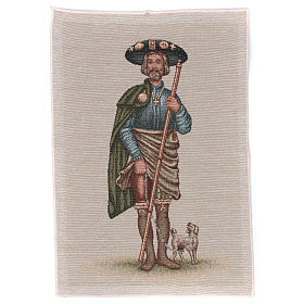 Tapestry Saint Rocco 40x30 cm s1