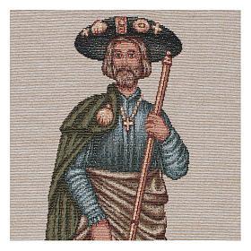 Tapestry Saint Rocco 40x30 cm s2