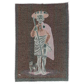 Tapestry Saint Rocco 40x30 cm s3
