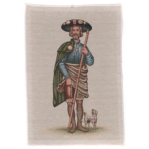 Tapestry Saint Rocco 40x30 cm 1