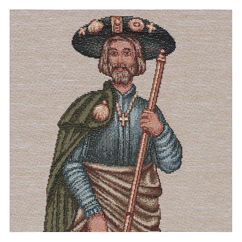 Tapestry Saint Rocco 40x30 cm 2